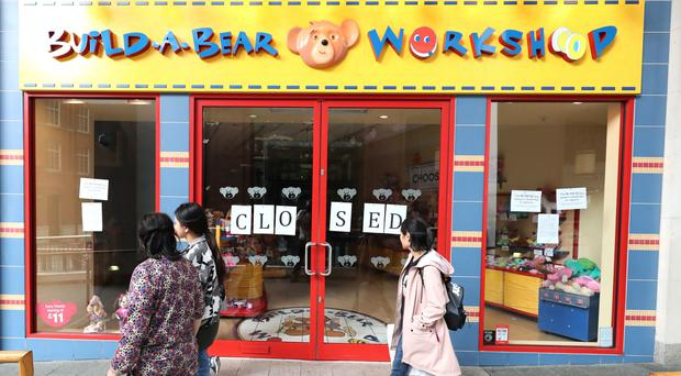 The Build-A-Bear store in Belfast had to close. (Niall Carson/PA)