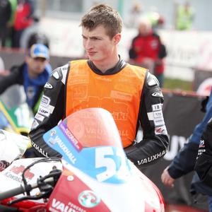 James Cowton at the NW200 in May