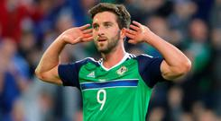 Will Grigg rejected the call-up to Northern Ireland's squad for the home friendly against South Korea back in March.