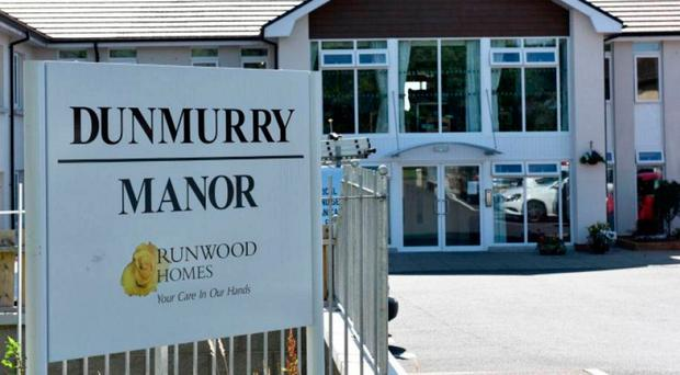 Dunmurry Manor care home in Belfast
