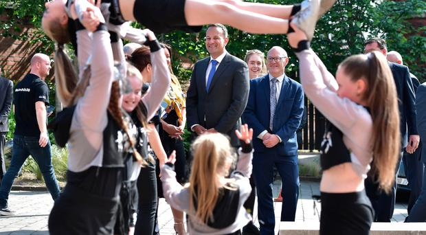 Leo Varadkar appearing at the launch of the festival in June