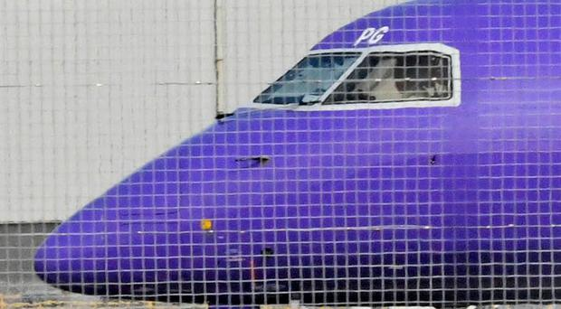The Flybe plane involved in the emergency