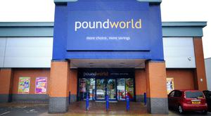 Poundworld will close a further four stores in Northern Ireland. (Anna Gowthorpe/PA)