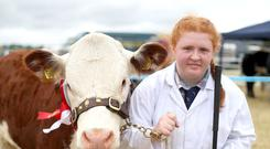 Emma McCrea at Limavady Show on Saturday
