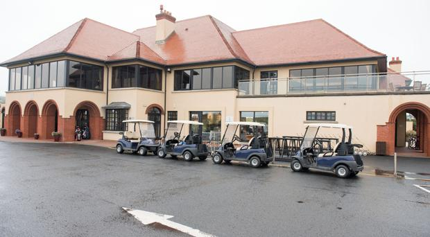 The Clubhouse at Royal Portrush