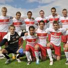 Spartak Moscow taking part in the competition in 2010