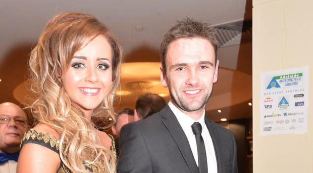 Janine Brolly with William Dunlop
