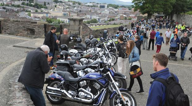 Bikers from across NI and beyond attended the bike show in Londonderry in previous years