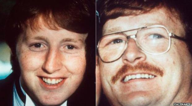 Martin and Gerard Harte, who were shot dead by the SAS in 1988