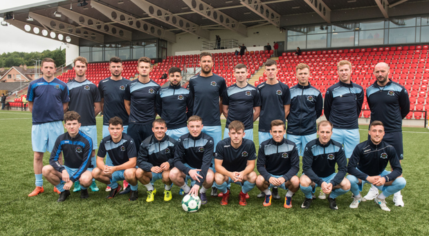 The Institute team at The Brandywell