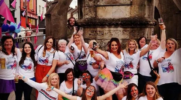 Co Armagh town Keady has danced its way into the Macarena record books