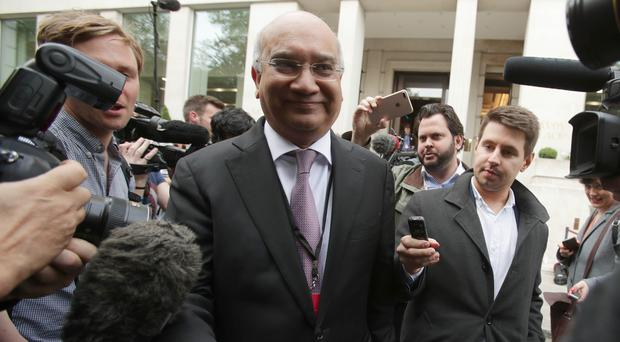 Keith Vaz allegedly bullied clerks (Yui Mok/PA)