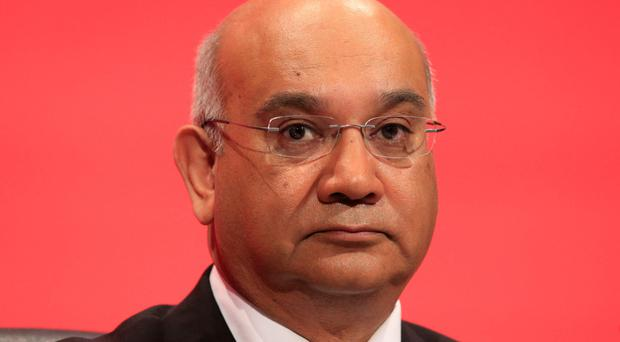 Claims: former Labour MP Keith Vaz has denied allegations he bullied a Northern Ireland woman