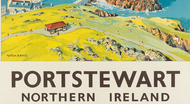The Portstewart poster which sold at auction in New York