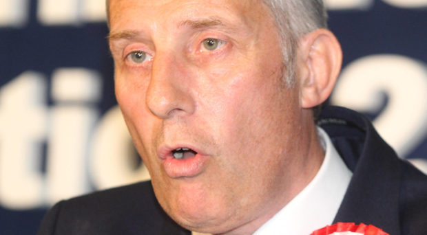Suspended: Ian Paisley