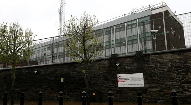 Strand Road police station (Brian Lawless/PA)