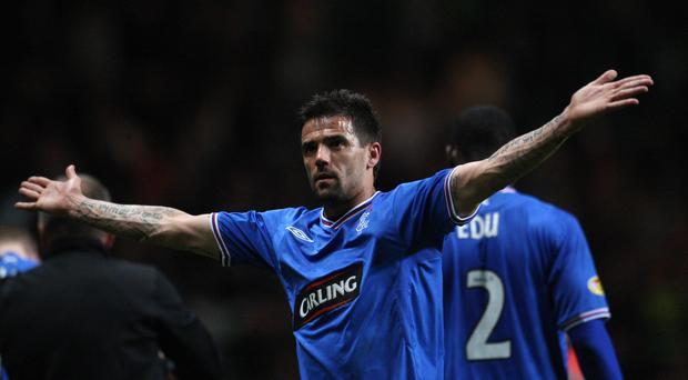 Former Rangers player Nacho Novo was involved in a confrontation at Belfast International Airport (PA)