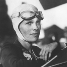 Amelia Earhart, the first woman to fly the Atlantic