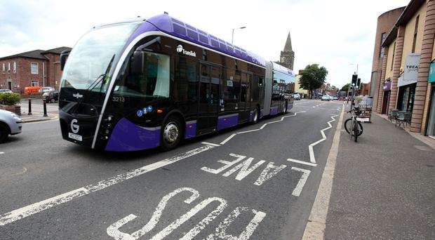The Belfast Rapid Transit Gliders will start running on September 3