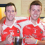 Brendan Cunningham and Conal McKee during their Dundrum GAA days