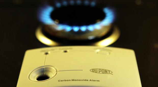 Firefighters found 'significant' levels of carbon monoxide inside the property (Andrew Milligan/PA)