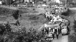 The Civil Rights Movement on the march in Co Tyrone during August 1968