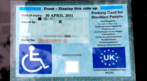 A total of 46,691 Blue Badge permits were issued last year