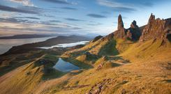 Destinations such as Skye helped elevate Scotland to fifth in a list of travel experience countries (Tom White/PA)