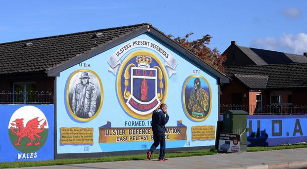 Loyalist and republican murals