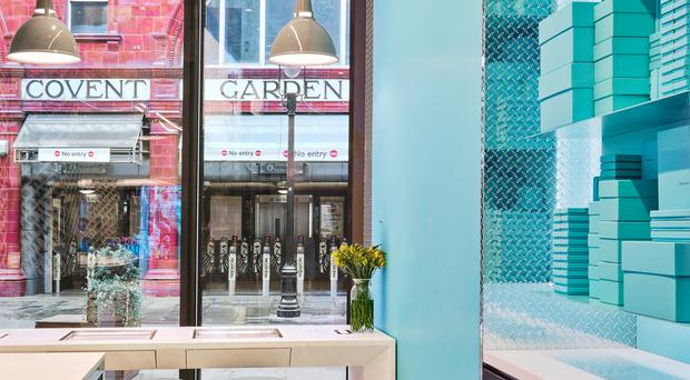 a1a801a3e11 Belfast fit-out firm gives new Tiffany s store extra sparkle ...