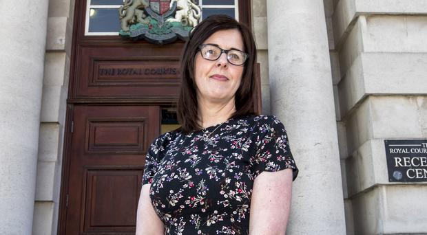 Siobhan McLaughlin won her court fight (Liam McBurney/PA)