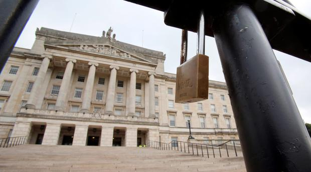 Sinn Fein have indicated they want to return to Stormont by April next year.