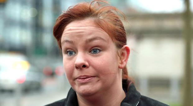 Jolene Bunting's conduct has caused 'a level of reputational damage to Belfast City Council', it has been claimed (Niall Carson/PA)