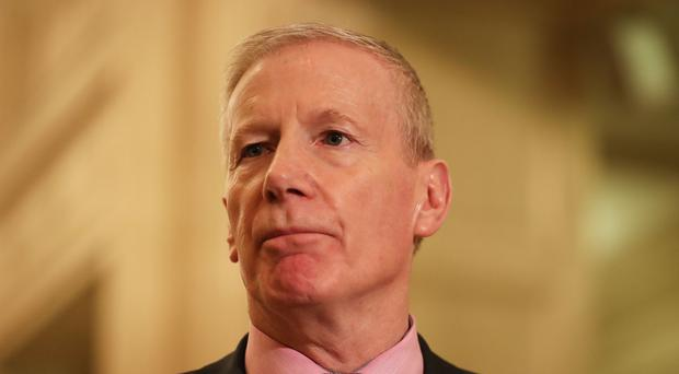Gregory Campbell suggested Sinn Fein MPs should face a pay cut (Niall Carson/PA)
