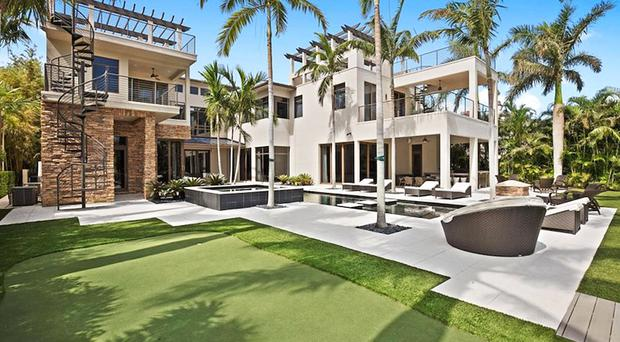 The house sold by Rory McIlroy in Palm Beach, Florida