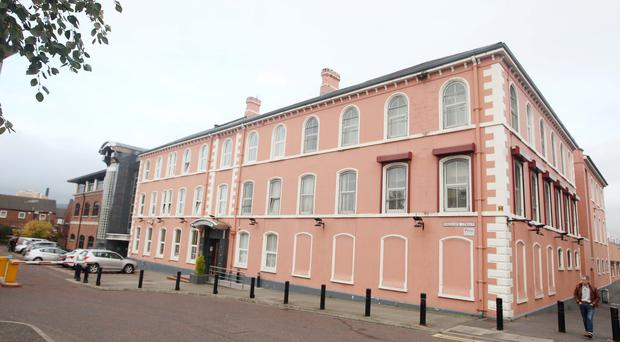 Havelock House on the Ormeau Road in south Belfast. The former UTV building is to be turned into student flats
