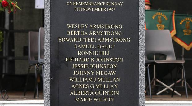 A memorial to the victims of the Enniskillen bomb is set to be erected, after an earlier monument was controversially removed.