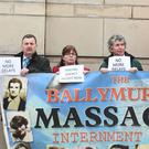 Relatives of those killed by the army in Ballymurphy in 1971 campaign for justice