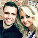 Janine with her late husband champion road racer William Dunlop