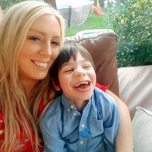 Angela Haughey with her son Charlie (5)