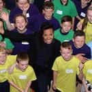 Dame Kelly Holmes launches her initiative at Queen's PEC in Belfast