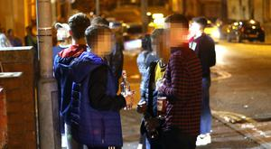 On-street drinking by students is a nuisance for locals around QUB