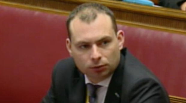 Alan Hegan gives evidence at the RHI Inquiry yesterday