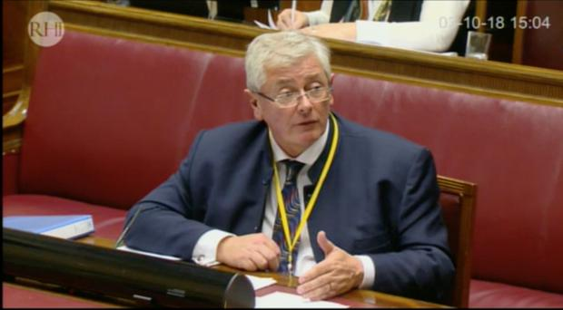 Michael Doran, managing director of Action Renewables, gives evidence to the RHI Inquiry.