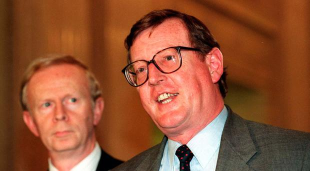 Trimble Warns Arlene Foster Changing Belfast Agreement Would Be