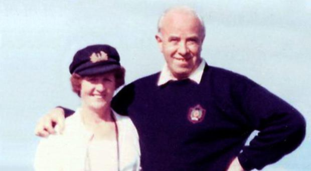 IRA murder victim Henry Babington with his wife Maura