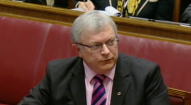 Patsy McGlone gives evidence to RHI Inquiry yesterday