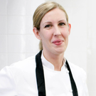 Clare Smyth in the kitchen