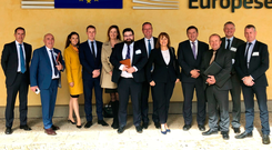 Business leaders from Northern Ireland in Brussels for a meeting with EU negotiators
