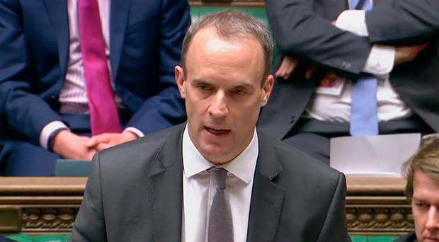 Brexit deal must be done within weeks, Raab warns